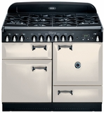 "ALEG44DFIVY AGA 44"" Legacy Dual Fuel Range with Convection Oven - Ivory"