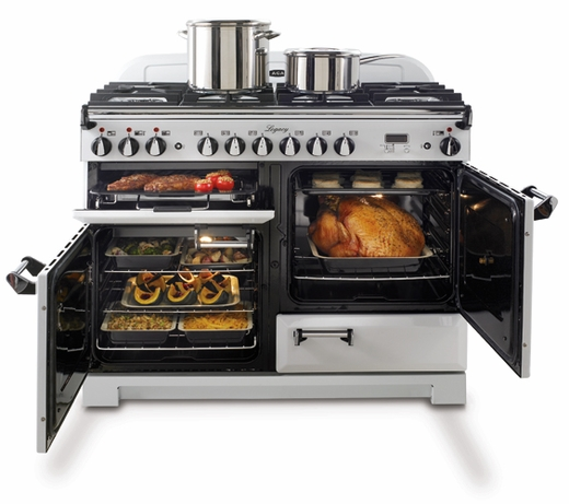 """ALEGS44DFSS AGA 44"""" Legacy Dual Fuel Range with Convection Oven - Stainless Steel"""