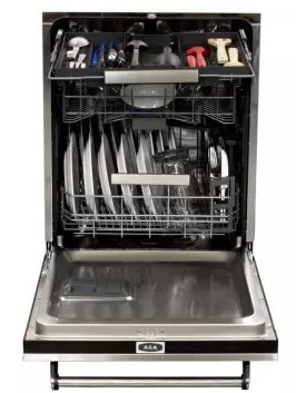 ALTTDWBLK AGA Legacy Fully Integrated Dishwasher with Six Cycles - Black