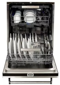 ALTTDWIVY AGA Legacy Fully Integrated Dishwasher with Six Cycles - Ivory