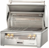 """ALXE30SZ Alfresco 30"""" Built-In Outdoor Grill with SearZone - Natural Gas - Stainless Steel"""