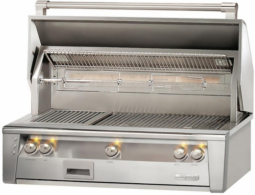 "ALXE42SZLP Alfresco 42"" Built-In Outdoor Grill with SearZone - Liquid Propane - Stainless Steel"