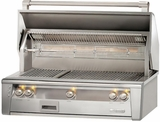 """ALXE42SZ Alfresco 42"""" Built-In Outdoor Grill with SearZone - Natural Gas - Stainless Steel"""