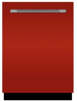"AMCTTDWSCR AGA 24"" Mercury Fully Integrated Tall Tub Dishwasher with Smartsoil Sensor and Wave-Touch Controls - Scarlet"