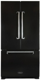 AMLFDR23BLK Aga Legacy 36? French Door Counter Depth Refrigerator with Customized Temperature Controls - Black