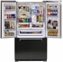 AMLFDR23BLK Aga Legacy 36 Inch French Door Counter Depth Refrigerator with Customized Temperature Controls - Black