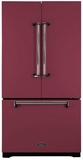 AMLFDR23CRN Aga Legacy 36? French Door Counter Depth Refrigerator with Customized Temperature Controls - Cranberry