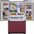 AMLFDR23CRN Aga Legacy 36 Inch French Door Counter Depth Refrigerator with Customized Temperature Controls - Cranberry