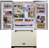 AMLFDR23IVY Aga Legacy 36 Inch French Door Counter Depth Refrigerator with Customized Temperature Controls - Ivory