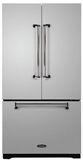AMLFDR23SS Aga Legacy 36? French Door Counter Depth Refrigerator with Customized Temperature Controls - Stainless Steel