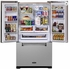 AMLFDR23SS Aga Legacy 36 Inch French Door Counter Depth Refrigerator with Customized Temperature Controls - Stainless Steel
