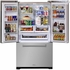 "AMPROFD23SS Aga Marvel Professional 36"" Counter Depth French Door Refrigerator with Storage Door Wine Rack - Stainless Steel"