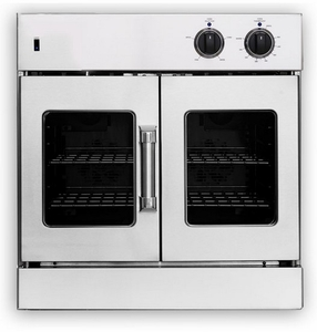 """AROFG-30N American Range 30"""" Legacy Single French Door Gas Wall Oven - Natural Gas - Stainless Steel"""