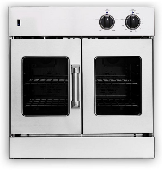 Arofg 30n American Range 30 Legacy Single French Door Gas Wall Oven With Infared Broiler Innovection Convection And Porcelainized Interior Natural