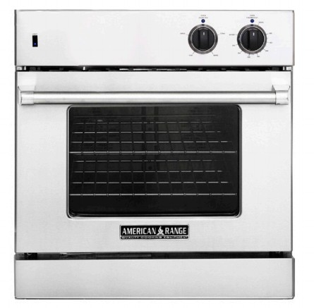 "AROSE-30 American Range 30"" Legacy Single Chef Door Electric Wall Oven with Infared Broiler and Innovection Convection - Stainless Steel"
