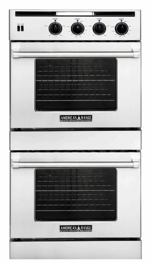 """AROSSG-230N American Range 30"""" Legacy Double Chef Door Gas Wall Oven - Natural Gas - Stainless Steel"""