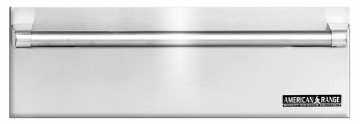 """ARR-30WD American Range 30"""" Villa Professional Warming Drawer with Classic Handle - Stainless Steel"""