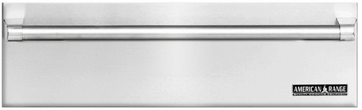 "ARR-36WD American Range 36"" Villa Professional Warming Drawer with Classic Handle - Stainless Steel"