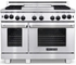 """ARR-484GDGRN American Range Heritage Classic 48"""" All Gas Range with Sealed Gas Burners, Griddle, Grill & Innovection Convection Oven - Natural Gas - Stainless Steel"""