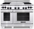 """ARROB-848N American Range Performer 48"""" All Gas Range with Open Burners & Innovection Convection Oven - Natural Gas - Stainless Steel"""