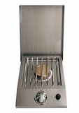 ARTSB1NG Artisan Natural Gas Side Brass Burner with 15,000 BTUs - Stainless Steel