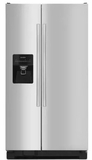 "ASI2575FRS Amana 36"" 24.0 cu. ft.  Side by Side Refrigerator with Dispenser Control Lockout and Flexible Door Storage  - Stainless Steel"