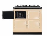 ATC3CRM AGA Total Control 3 Electric Range Cooker with Cast Iron Radiant Heat Oven - Cream