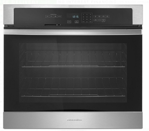 "AWO6313SFS Amana 30"" Electric Wall Oven with 5.0 cu. ft. Capacity and Incandescent Lighting - Stainless Steel"