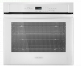 "AWO6313SFW Amana 30"" Electric Wall Oven with 5.0 cu. ft. Capacity and Incandescent Lighting - White"