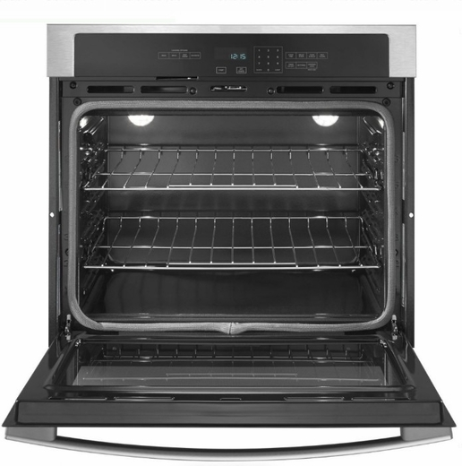 "AWO6317SFS  Amana 27"" Electric Wall Oven with 4.3 cu. ft. Capacity and Incandescent Lighting - Stainless Steel"