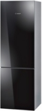 "B10CB80NVB Bosch 800 Series 24"" Counter Depth Bottom Freezer Refrigerator - Black Glass"