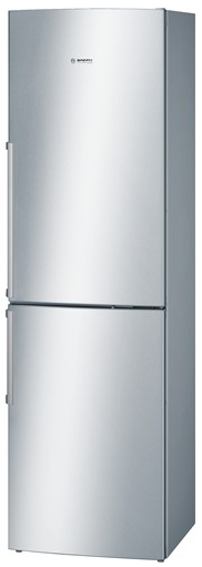 """B11CB81SSS Bosch 24"""" 800 Series Counter Depth Bottom-Freezer with Dual Evaporator and Electronic Controls  - Stainless Steel"""