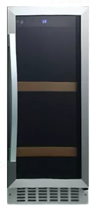 "BC79 Fagor 15"" Beverage Center with Digital Touch Controls and 2 Wire Shelves  - Stainless Steel"