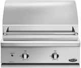 "BGC30BQL DCS Traditional 30"" All Grill for Built-in or On-Cart Applications - LP Gas - Stainless Steel"