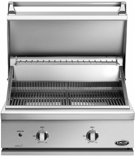 """BGC30BQL DCS Traditional 30"""" All Grill for Built-in or On-Cart Applications - LP Gas - Stainless Steel"""