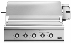 """BGC36BQARN DCS Traditional 36"""" All Grill for Built-in or On-Cart Applications - Natural Gas - Stainless Steel"""