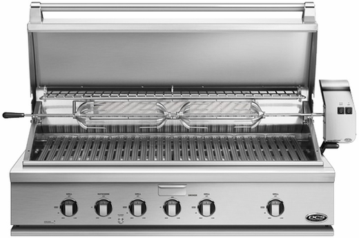 """BGC48BQARL DCS Traditional 48"""" All Grill for Built-in or On-Cart Applications - LP Gas - Stainless Steel"""