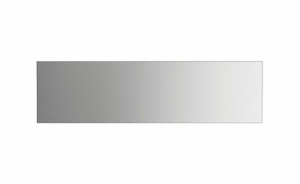"""BGCV21248 48"""" DCS Pro Cooktop Low Backguard - Stainless Steel"""
