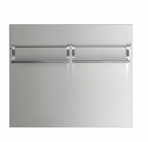 "BGCV23036 36"" DCS Pro Cooktop High Backguard - Stainless Steel"