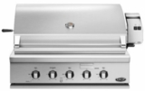 "BH136RN DCS 36"" Traditional Grill with Rotisserie and Ceramic Radiant Technology - Natural Gas - Stainless Steel"