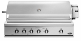 "BH148RGIN DCS 48"" Traditional Grill With Rotisserie Griddle and Hybrid IR Burner - Natural Gas - Stainless Steel"
