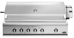 """BH148RN DCS 48"""" Traditional Grill with Rotisserie and Ceramic Radiant Technology - Natural Gas - Stainless Steel"""