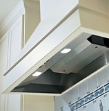 """BH228SLD-SS Vent-A-Hood 12"""" x 28 3/8"""" x 19 1/4"""" Standard Wall Mount Liner (600 CFM) - Stainless Steel"""