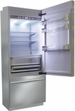"BKI30BIRS Fhiaba Brilliance Series 30"" Bottom Freezer Drawer Refrigerator with TriPro & TriMode - Right Hinge - Stainless Steel"