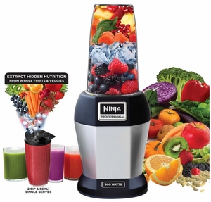 BL456 Nutri Ninja Pro Blender with 900 Watts Power