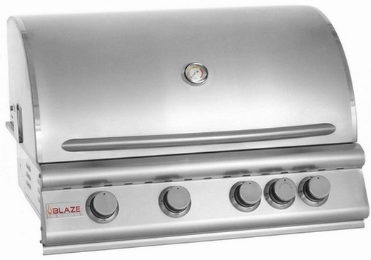 BLZ4NG Blaze 32 Inch 4-Burner Natural Gas Grill  - Stainless Steel