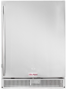 "BLZSSRF50DH Blaze 24"" Outdoor Rated 5.2 Cu. Ft. Undercounter Refrigerator with Reversible Door - Stainless Steel"