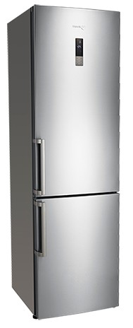 "BMF200X Fagor 24"" Counter Depth Refrigerator with Bottom Freezer - Stainless Steel"