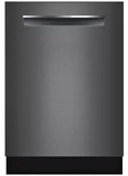 Bosch Dishwashers - Top Controls - Black STAINLESS STEEL