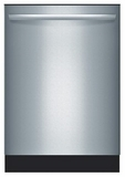 Bosch Dishwashers - Top Controls - STAINLESS STEEL